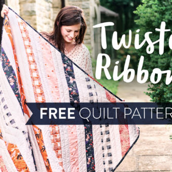 Twisted Ribbons Free Quilt Pattern