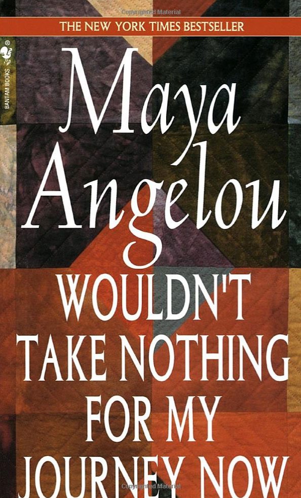 Nancy Crow's quilt is on the cover of the Complete Collection of Poems by Maya Angelou