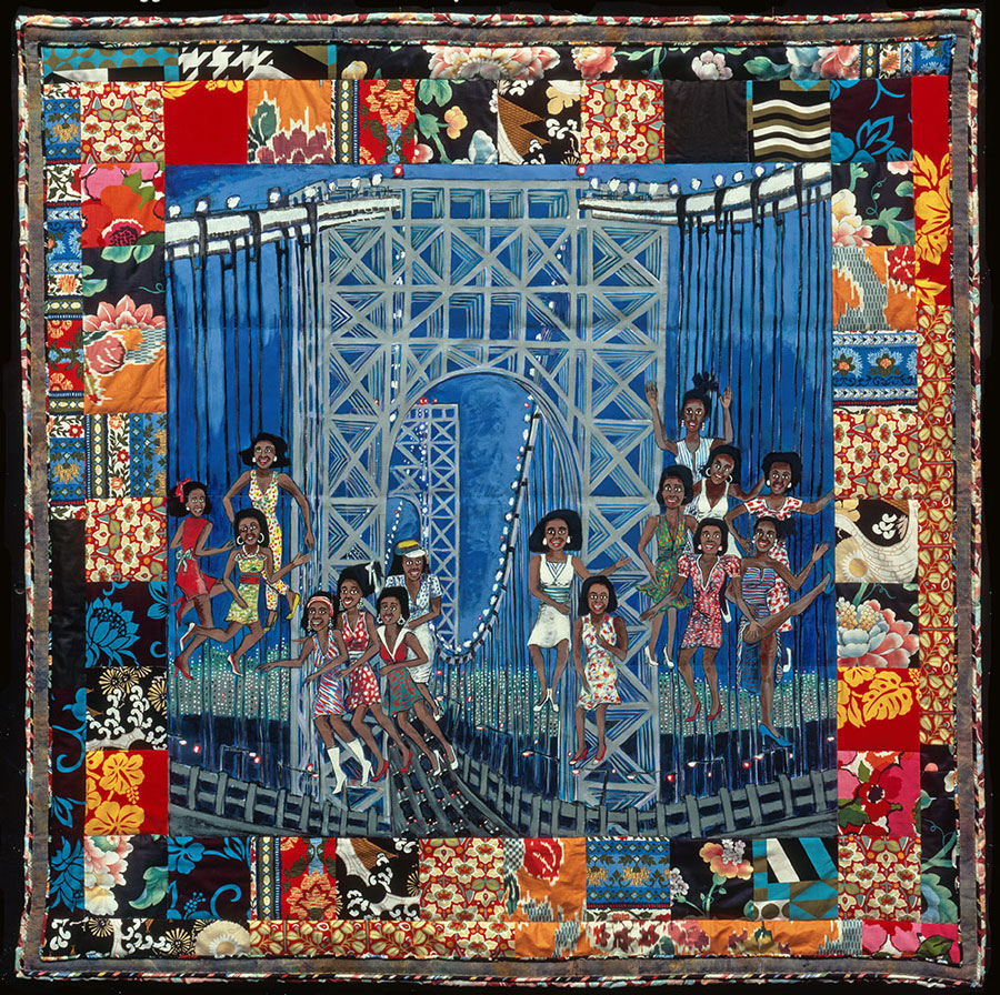 Faith Ringgold is an accomplished painter, writer, professor and quilter. By combining all of these things, she tells stories through painting in her quilts. | Suzy Quilts https://suzyquilts.com/faith-ringgold