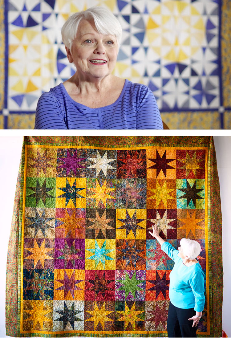 Marti Michell is not just an author, pattern writer and fabric designer, she almost single-handedly saved quilting from being a dying art and has continued to revolutionize the industry ever since. | Suzy Quilts https://suzyquilts.com/marti-michell
