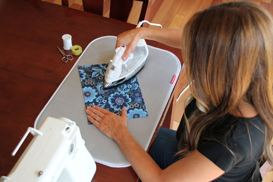 Win TheQuiltMate ironing pad during the Modern Fans Quilt Sew Along!