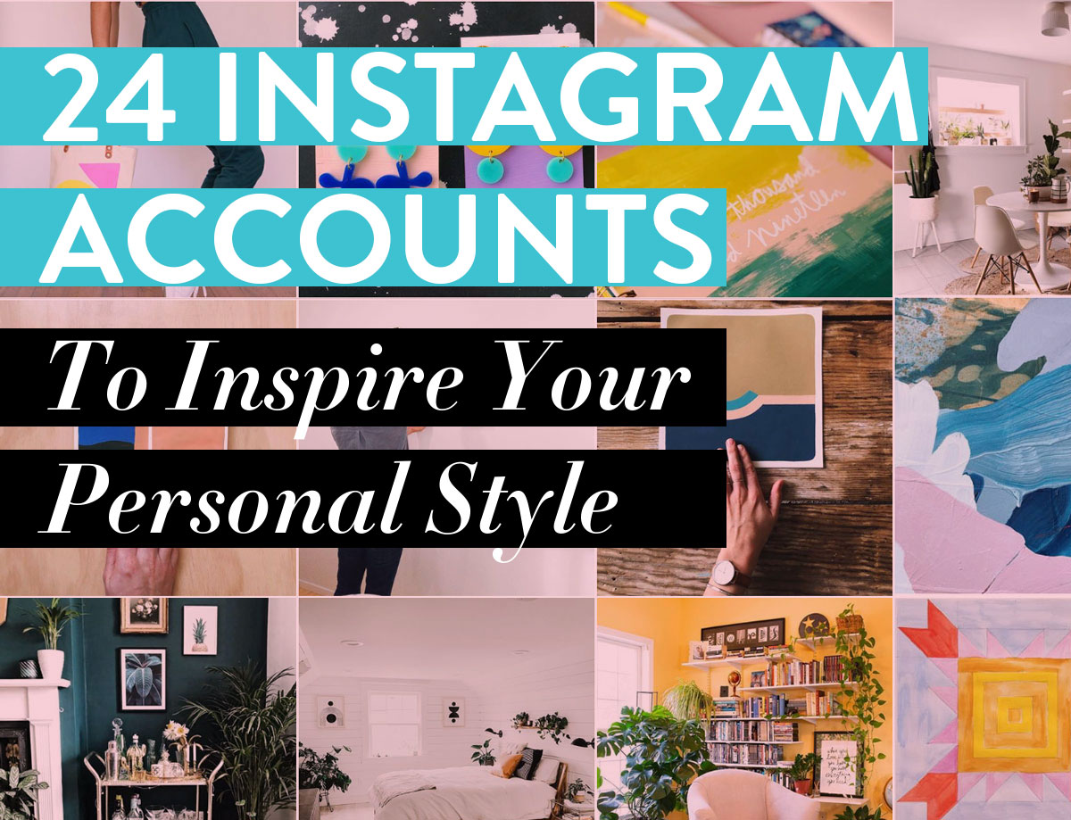 24 Instagram accounts to inspire your personal color and style!