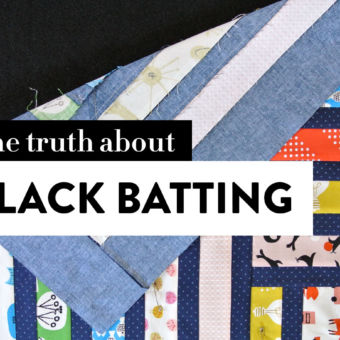 The Truth About Black Batting: When & Why to Use It