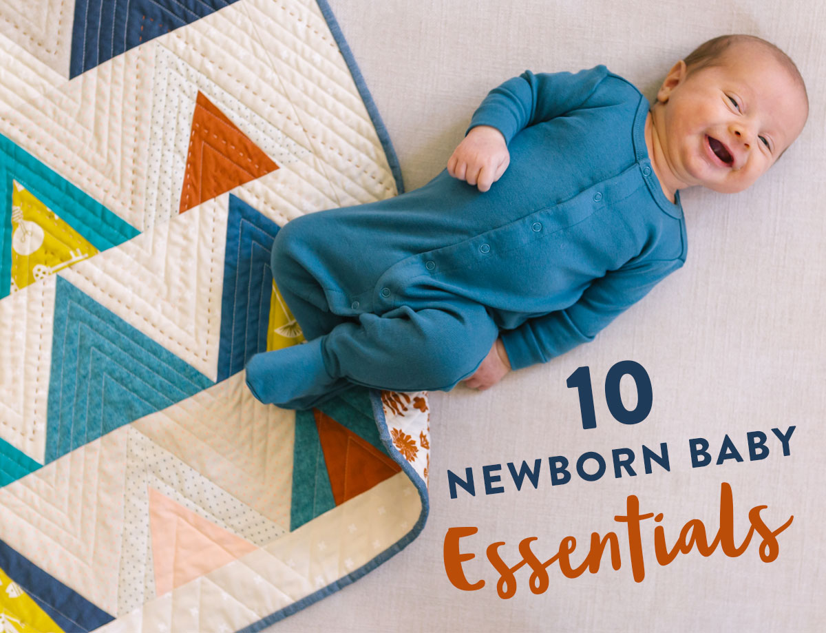 10 newborn baby essentials - the ultimate guide to a basic baby registry