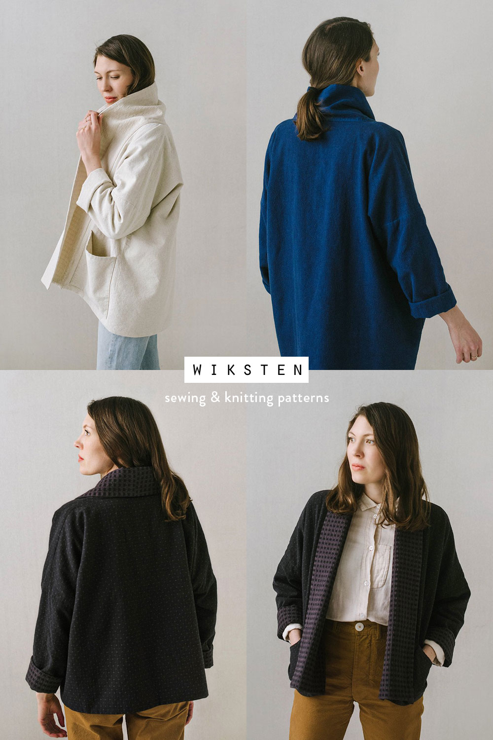 Meet the Maker blog series: Jenny Gordy of Wiksten creates simple, elegant, easy to follow garment patterns. Follow this blog series to learn about more pattern writers and artists in the sewing industry.