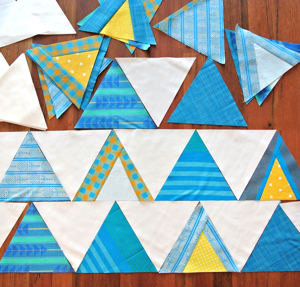 Mod Mountains Quilt Pattern (Download)
