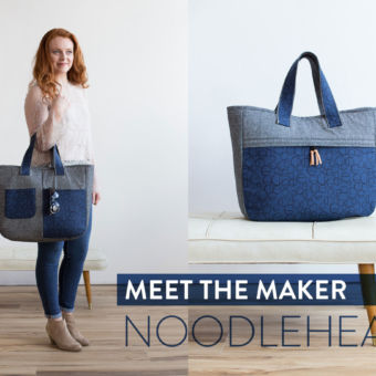 Totally Tote-errific Bag Patterns: Meet the Maker