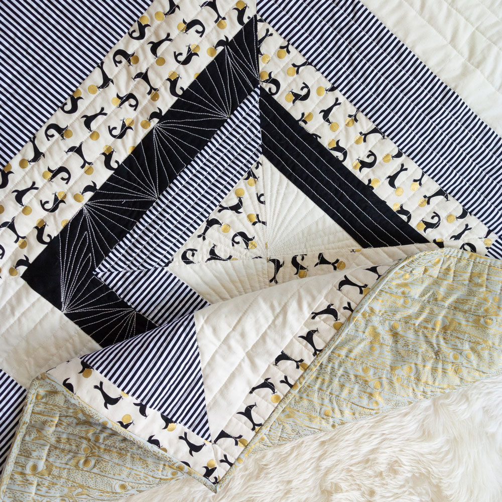Baby Quilt Patterns.Reflections Quilt Pattern Download