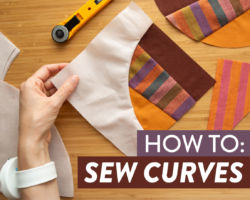 How to Sew Curves in a Quilt