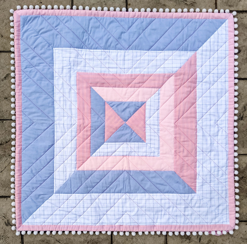The Reflections Quilt Pattern: A Modern Strip Quilt - Suzy Quilts