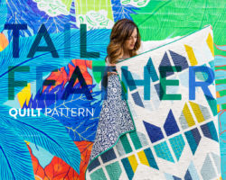 Tail Feather Quilt Pattern: Grab Some Fat Quarters