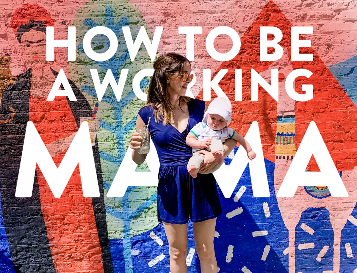 A list compiling your advice on how to be a working mama. I polled Instagram for your input, and came up with advice from 50 career moms. Suzy Quilts #workingmama #workingmom #familybalance