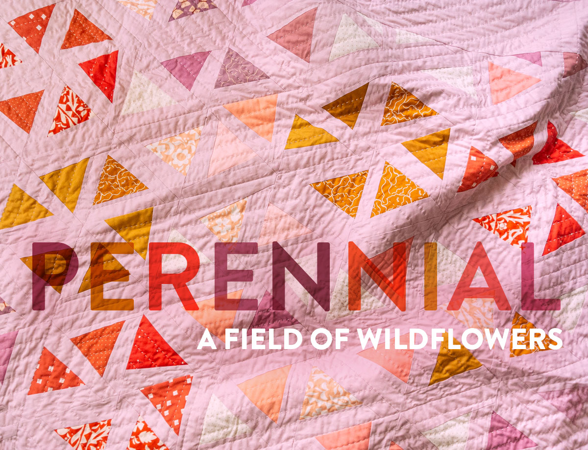 A Field of Wildflowers: The Perennial Quilt Pattern - Suzy Quilts