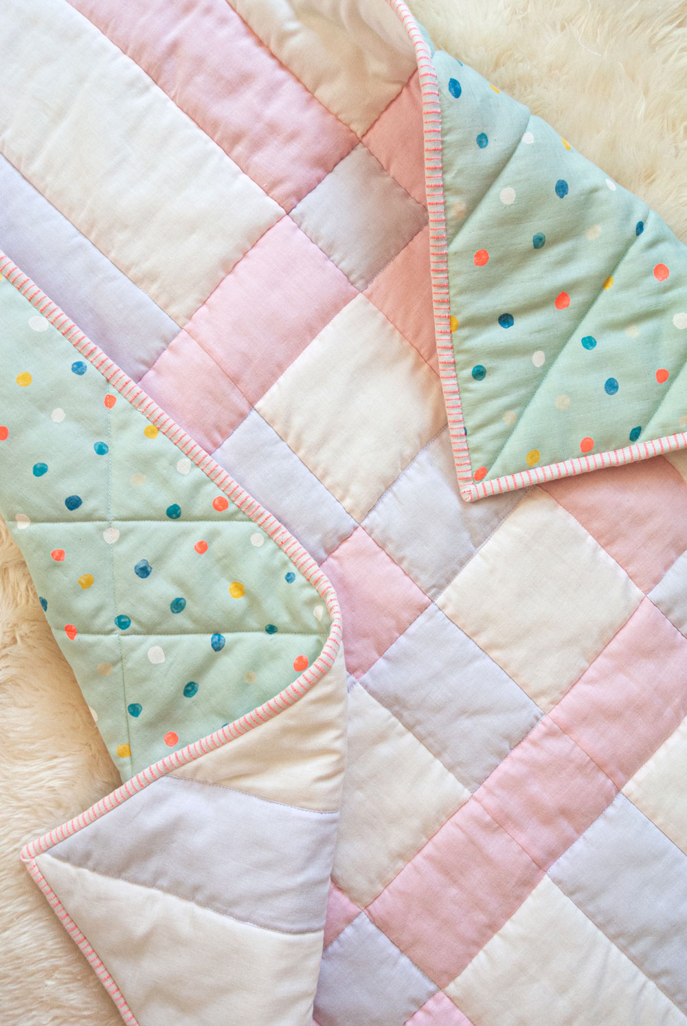 How To Make The Softest Baby Quilt In The World Suzy Quilts