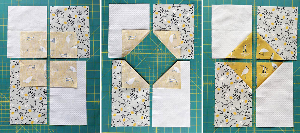 A free quilted Christmas stocking pattern right in time for the holidays! Sew a simple, modern stocking with this step by step tutorial. suzyquilts.com #DIYstocking #fabric