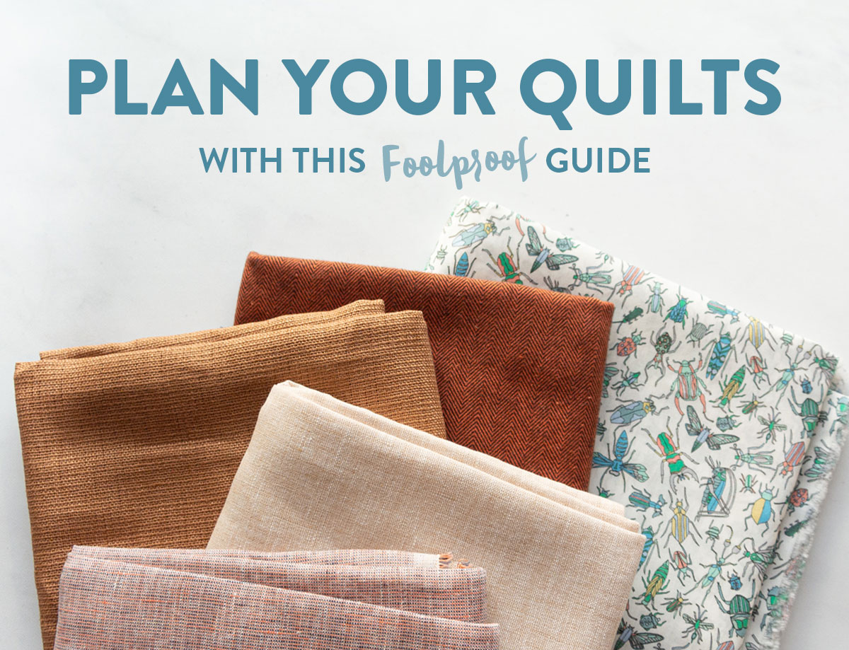 This 4-step guide will help you plan your quilts this year and maximize your productivity! A clear plan is the best way to have fun and get creative. suzyquilts.com #quiltingtutorial