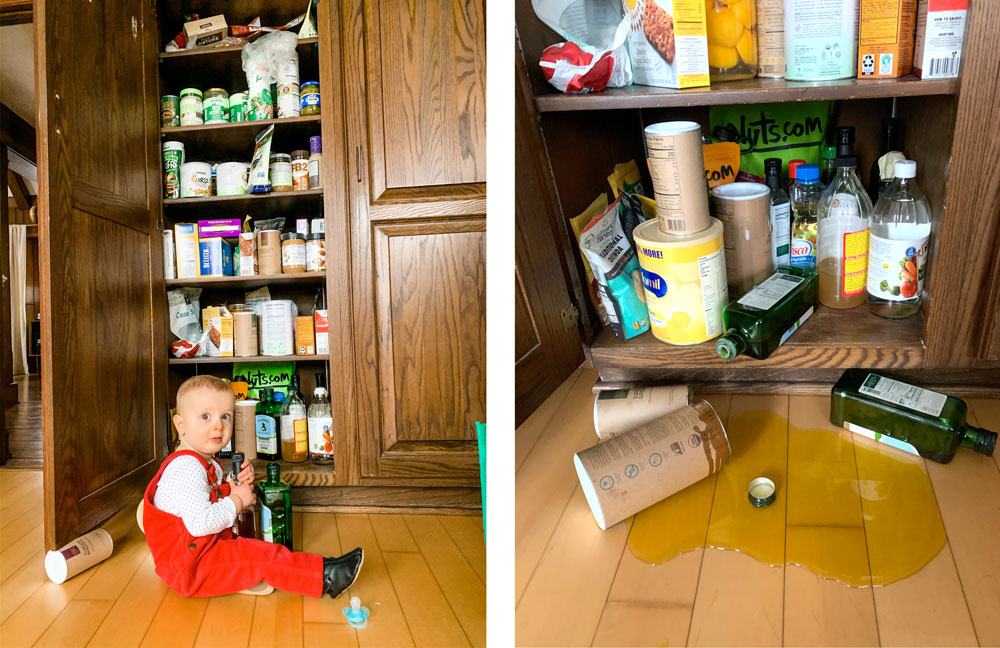 Raising a toddler has created new levels of chaos in our home I never knew were possible.