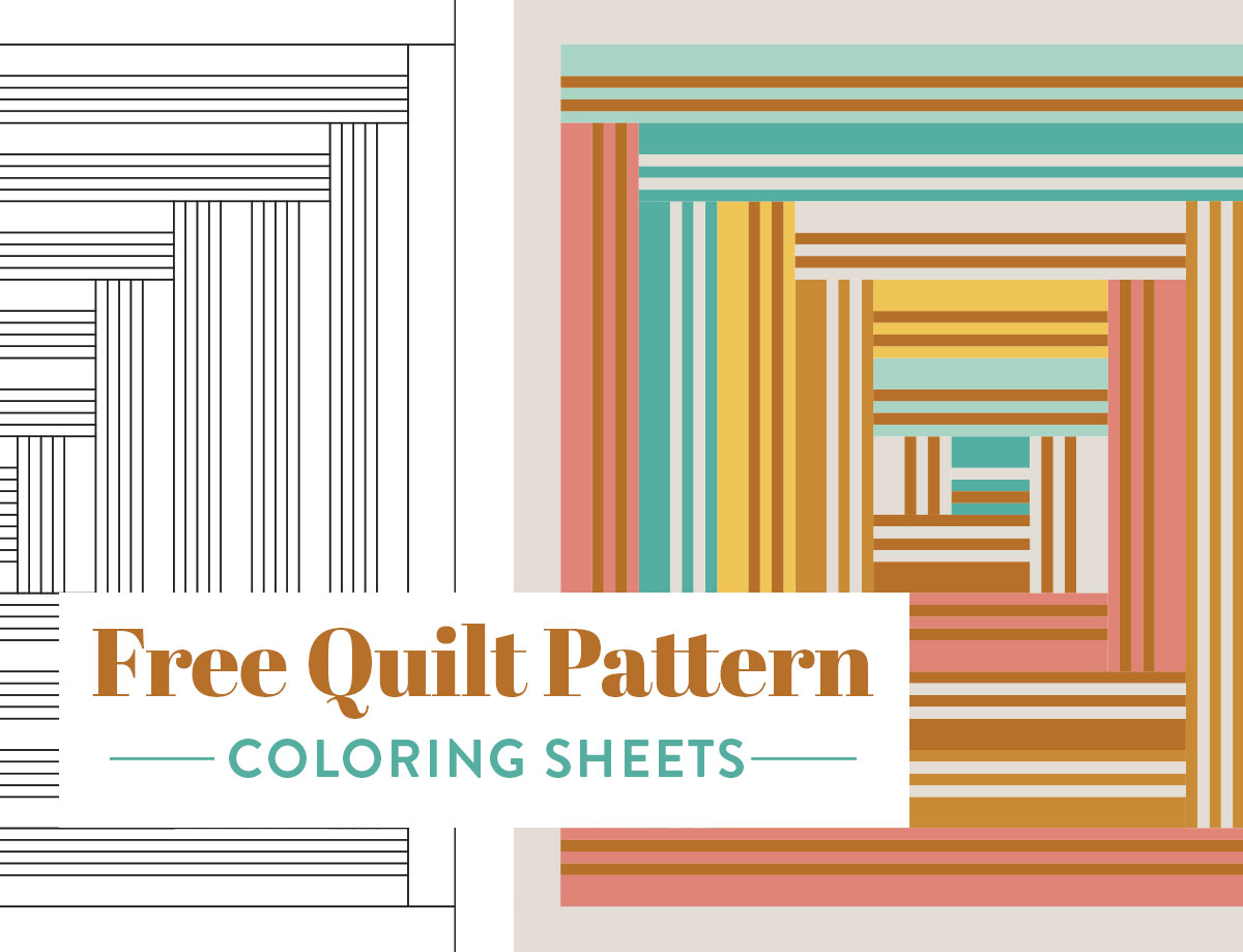 Free Quilt Pattern Coloring Sheets Print At Home Suzy Quilts