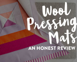 An Honest Review of Wool Pressing Mats