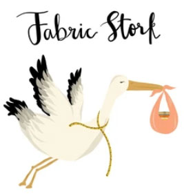 Fabric Stork quilting fabric shop