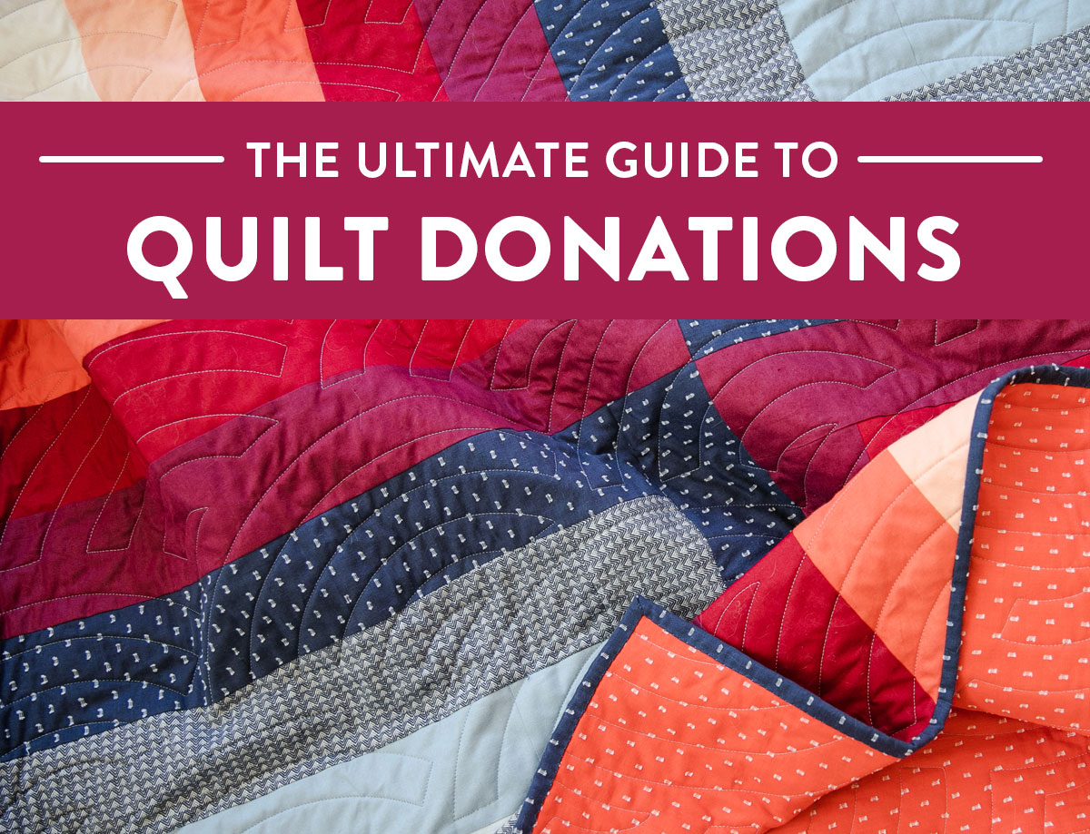 A comprehensive list of charities around the world that want quilt donations. Share your love of sewing and give away a quilt! suzyquilts.com