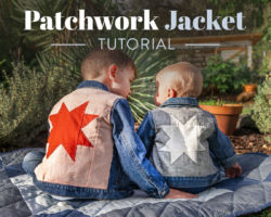 Patchwork Jacket Tutorial: Upcycle a Denim Jacket with Style