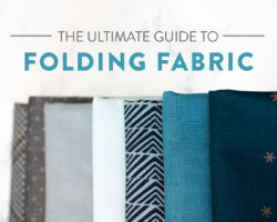 The Ultimate Guide to Folding Fabric (with Video Tutorial!)