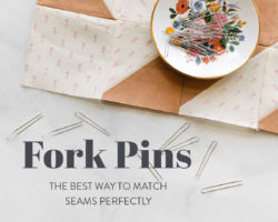 Fork Pins: The Best Way to Match Seams Perfectly
