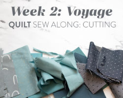 Voyage Quilt Sew Along Week 2: Cutting