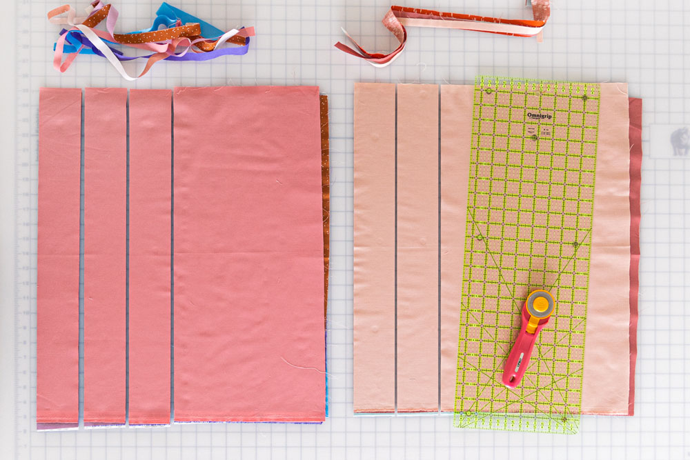 Have fun making this fat quarter friendly quilt pattern! The New Horizons quilt along includes lots of extra instruction and tips. suzyquilts.com #sewalong #quilting