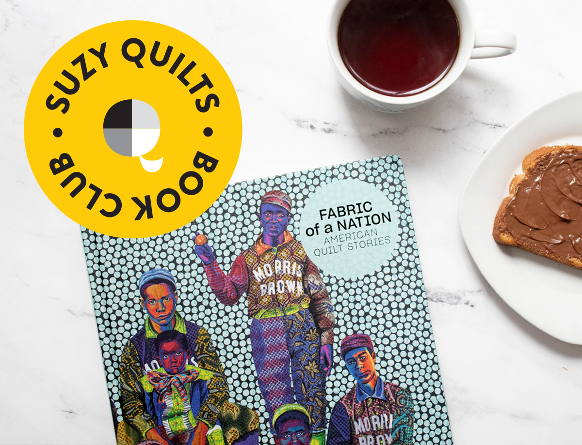 Join the Suzy Quilts Book Club and read about 400 years of quilt history with our creative community! suzyquilts.com #quilting #quiltbook